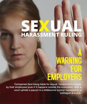 Sexual harassment ruling