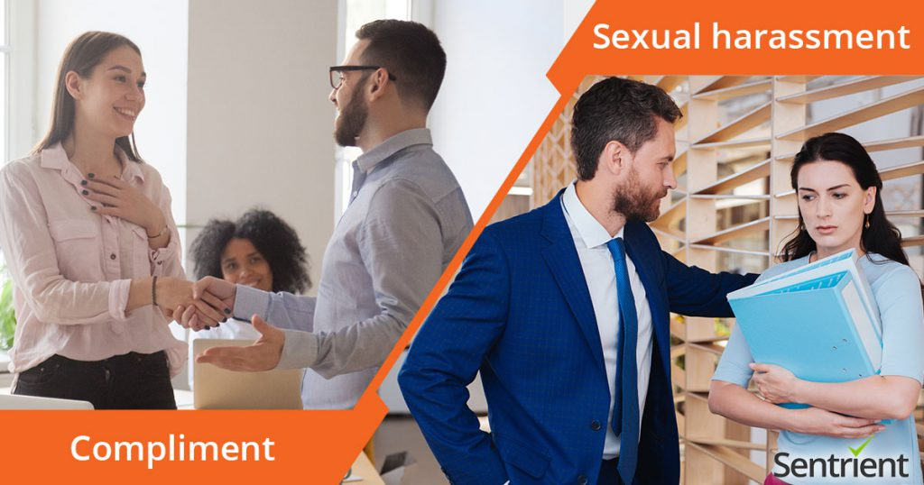 difference between a compliment and sexual harassment