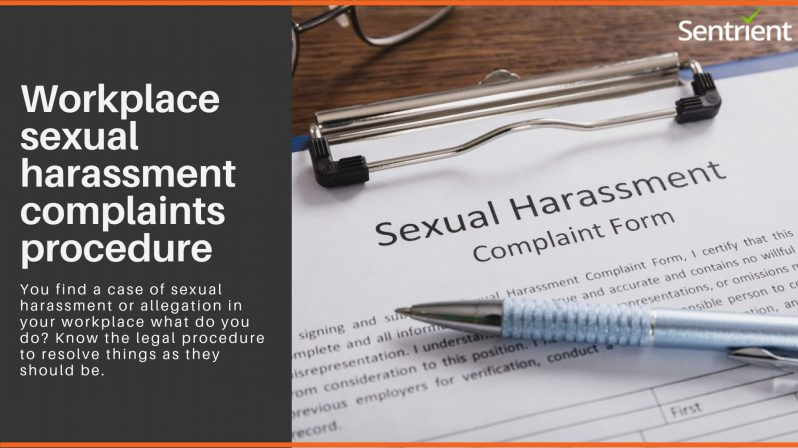 Workplace Sexual Harassment Complaint Procedure